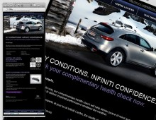 Infiniti Winter Email