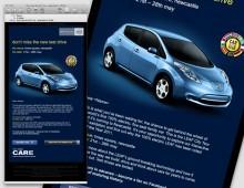 Nissan LEAF Email