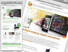 Sony Ericsson Xperia Emails